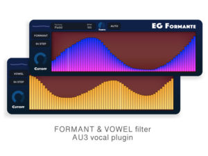 Formant filter audio unit for iOS