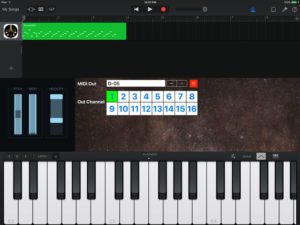 Use external midi gear with Garageband