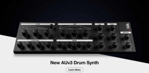 Drum synthesizer for iOS