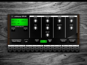 audio unit drum machine