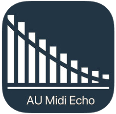 Midi Echo midi effects for iOS