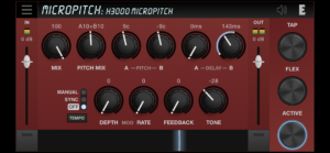 Eventide Micropitch Audio Unit iOS