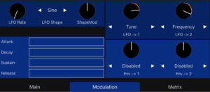 Spectrum free synthesizer app for iOS