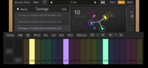 Synth One free synthesizer for ipad and iphone