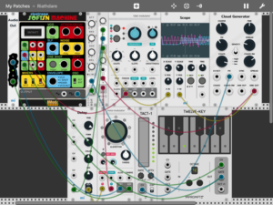 MiRack Modular Synth For iPad